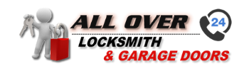 All Over Locksmith & Garage Doors Logo